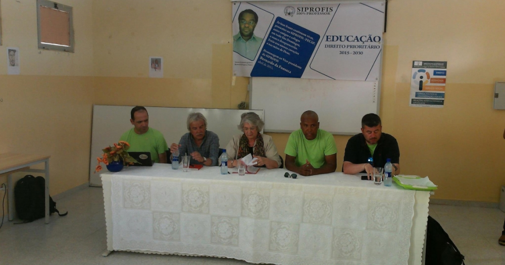 Conference that took place within the framework of the Cape Verde Teacher's Day celebrations